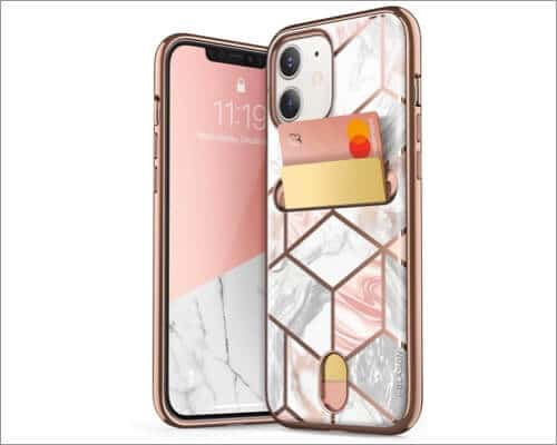 i-Blason Slim Designer Wallet Case for iPhone 12 Mini