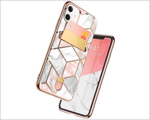 i-blason slim wallet casen for iphone 11