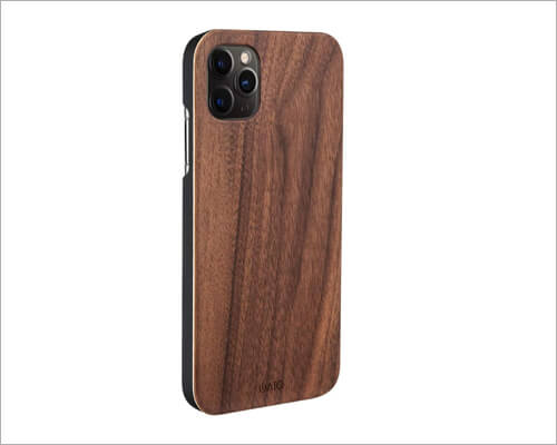 iATO Real Wooden Case for iPhone 11 Pro