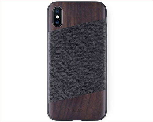 iATO Wooden Case for iPhone Xs