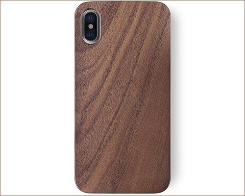 iATO iPhone Xs Wooden Case
