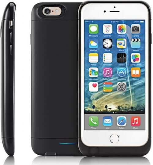 iBatzz Mojo Refuel Invictus iPhone 6-6 Plus Battery Case