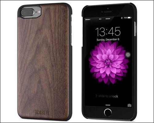 iCASEIT iPhone 8 Plus Wooden Case