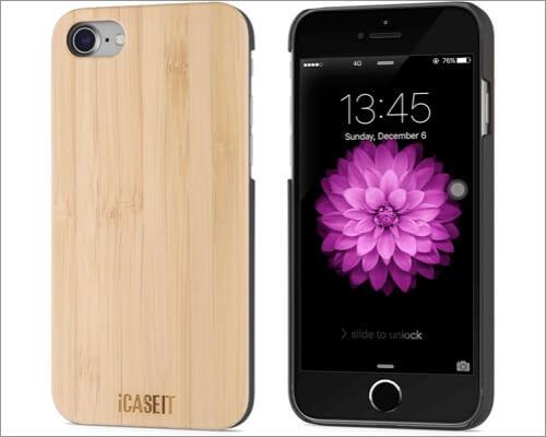 iCASEIT iPhone SE 2020 Wooden Case