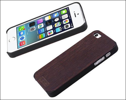 iCASEIT iPhone SE Wood Case
