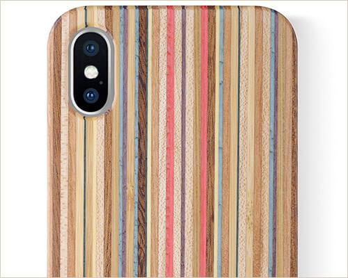 iCASEIT iPhone Xs Wooden Case