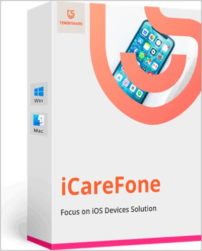 iCareFone software for Mac