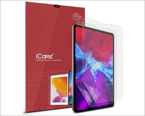 iCarez Matte Anti Glare Screen Protector for 11-inch iPad Pro 2nd Gen