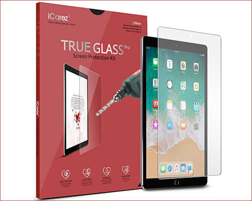 iCarez Tempered Glass Screen Protector for 10.5-inch iPad Air