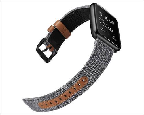 iHillon Classic Canvas Fabric Apple Watch Band
