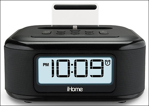 iHome iPL23 Clock Radio Docking Station with Speaker for iPhone 6s and 6s Plus