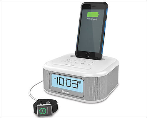 iHome iPL23 iPhone 6-6s Plus Docking Station with Speakers