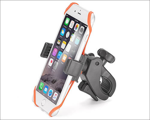 iKross Bike Mount for iPhone 8, X, 7 Plus, 7 6s, 6, 5, and iPhone SE