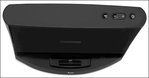 iLuv Aud 3 iPhone 7 and iPhone 7 Plus Docking Station with Speakers