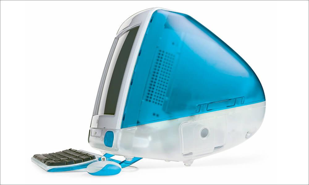 iMac G3 designed by Jony Ive
