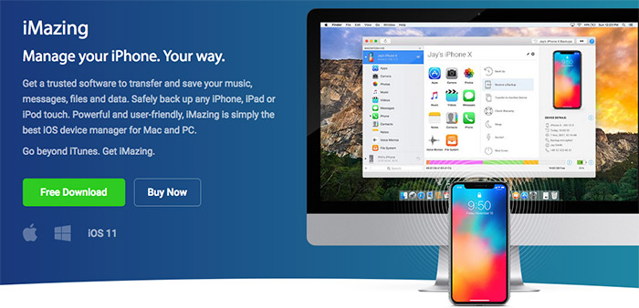 iMazing iPhone, iPad & iPod Manager for Mac and Windows