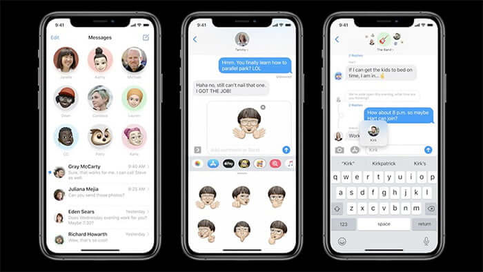 iMessage in iOS 14