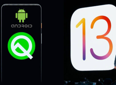 iOS 13 Vs Android Q