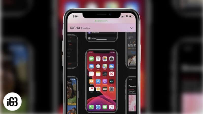 iOS 13 and iPadOS 13 Hidden Features