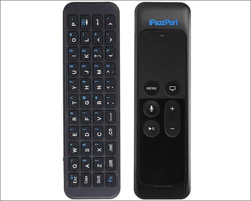iPazzPort Bluetooth Mini Wireless Keyboard for Apple TV