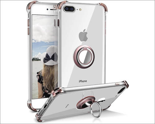 iPhone 7 Plus Ring Holder Case from DAUPIN
