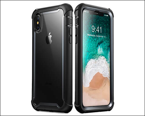 iPhone XS Max Ares clear case from i-Blason