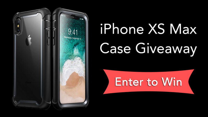 iPhone XS Max Case Giveaway