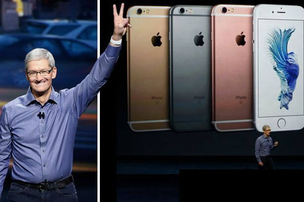 iPhone has just around 20% market share in the world