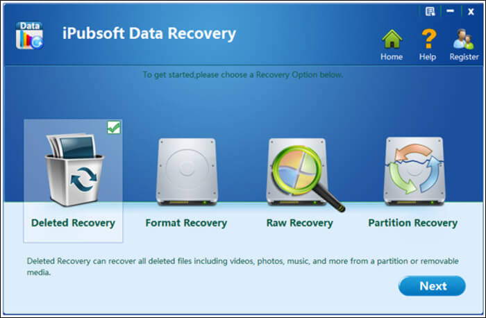 iPubsoft Data Recovery for Mac