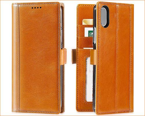 iPulse Journal iPhone X-Xs Wallet Case