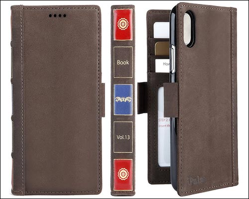 iPulse iPhone X Leather Wallet Case
