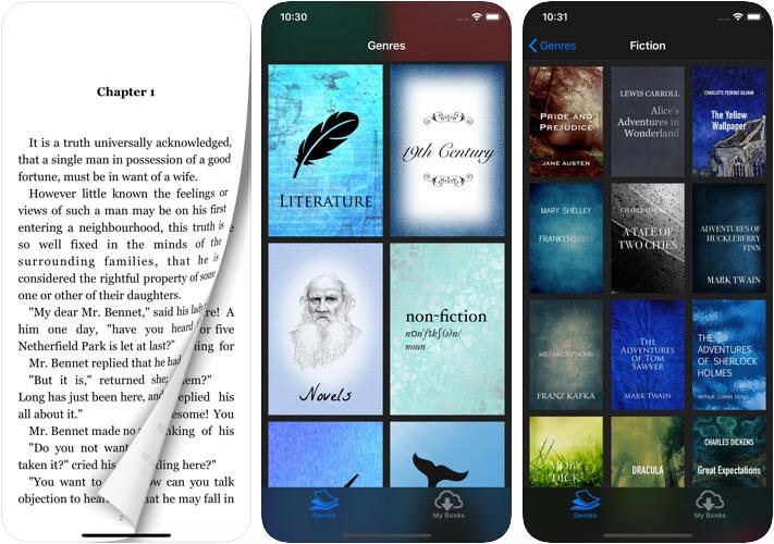 iReader eBook Reader iPhone and iPad App Screenshot