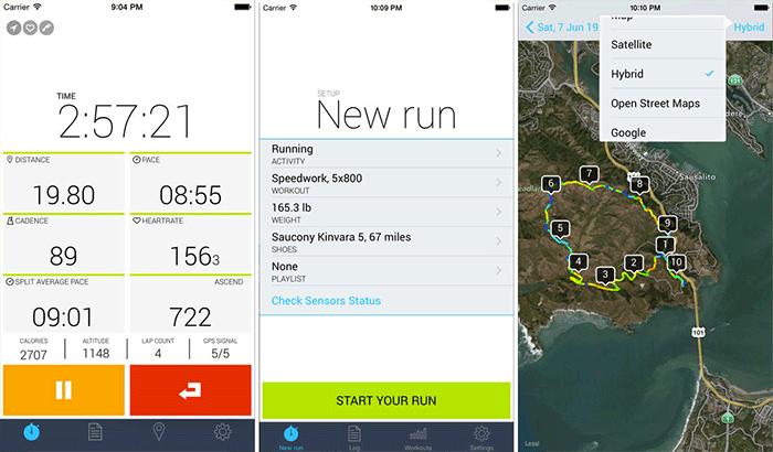 iSmoothRun Pro Cycling iPhone App Screenshot