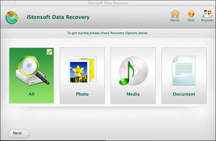 iStonsoft Mac Data Recovery Software