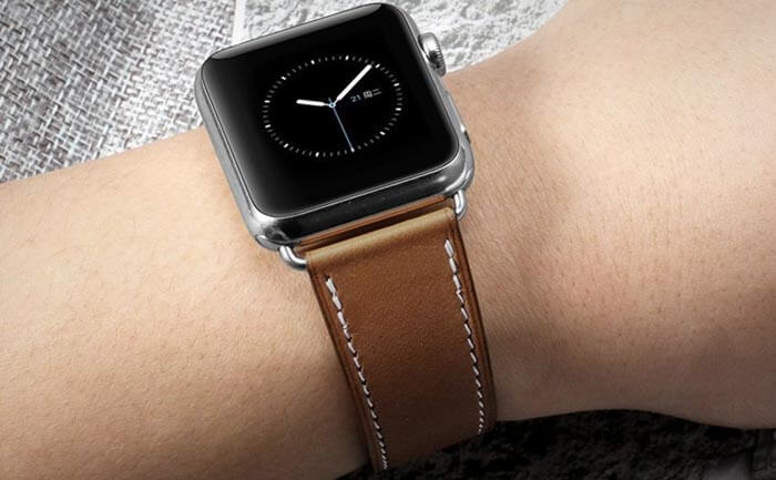 iStrap Apple Watch Leather Band