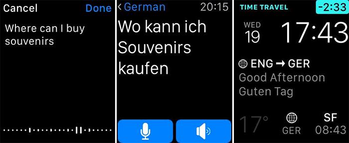 iTranslate Translator Apple Watch App Screenshot