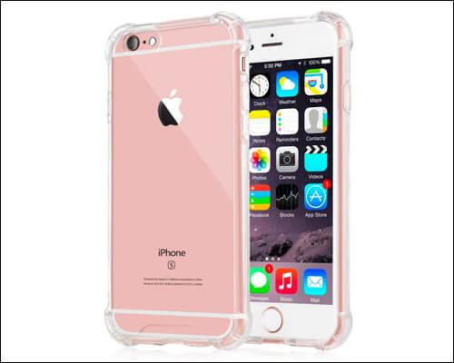 iXCC Hard Plastic Bumper Case for iPhone 6S