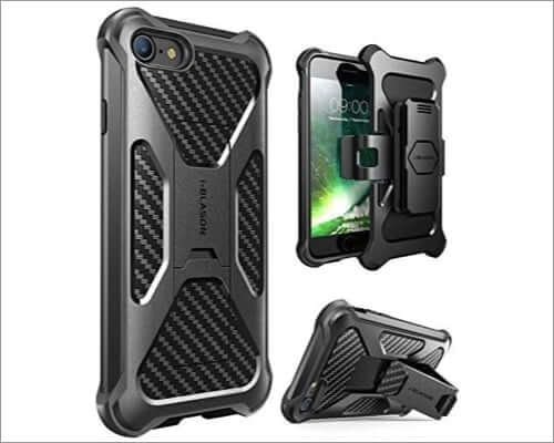 i-blason iphone se 2020 heavy duty belt clip case