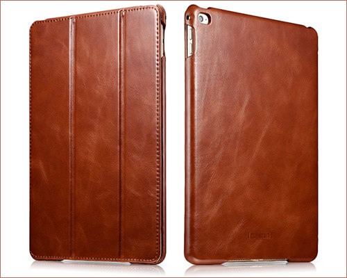 icarercase Leather Case for iPad Air 2