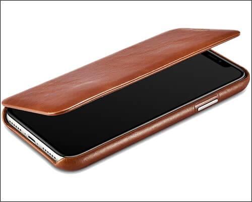icarercase iPhone X Flip Case