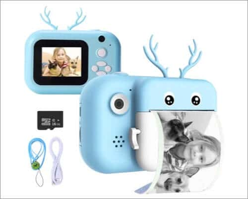 ieGeek Instant Print Camera for Children