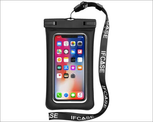 IFCASE Floating Waterproof Pouch for iPhone 12 Pro Max