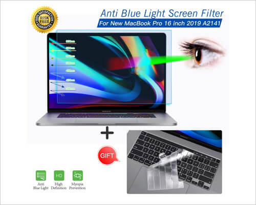 imComor Screen Protector for 16-Inch MacBook Pro