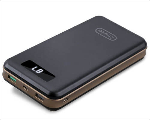 imuto USB C Power Bank for MacBook
