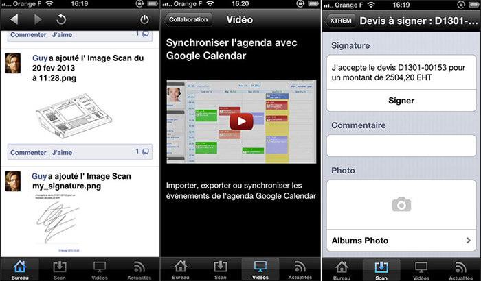 incwo ERP iPhone App Screenshot