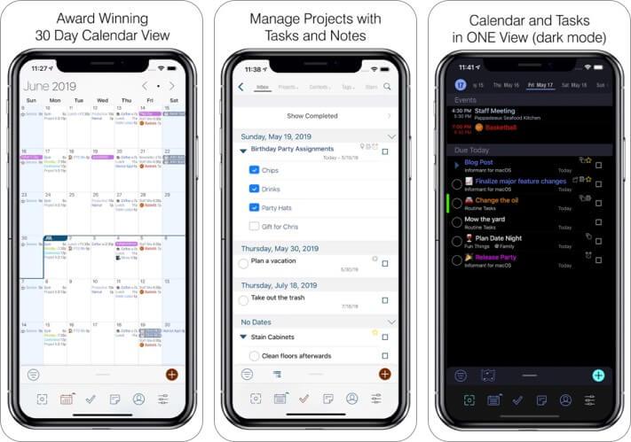 Informant 5 Calendar iPhone and iPad App Screenshot