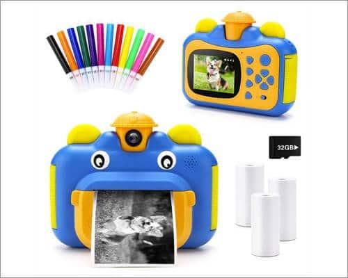 INKPOT Instant Print Camera for Kids