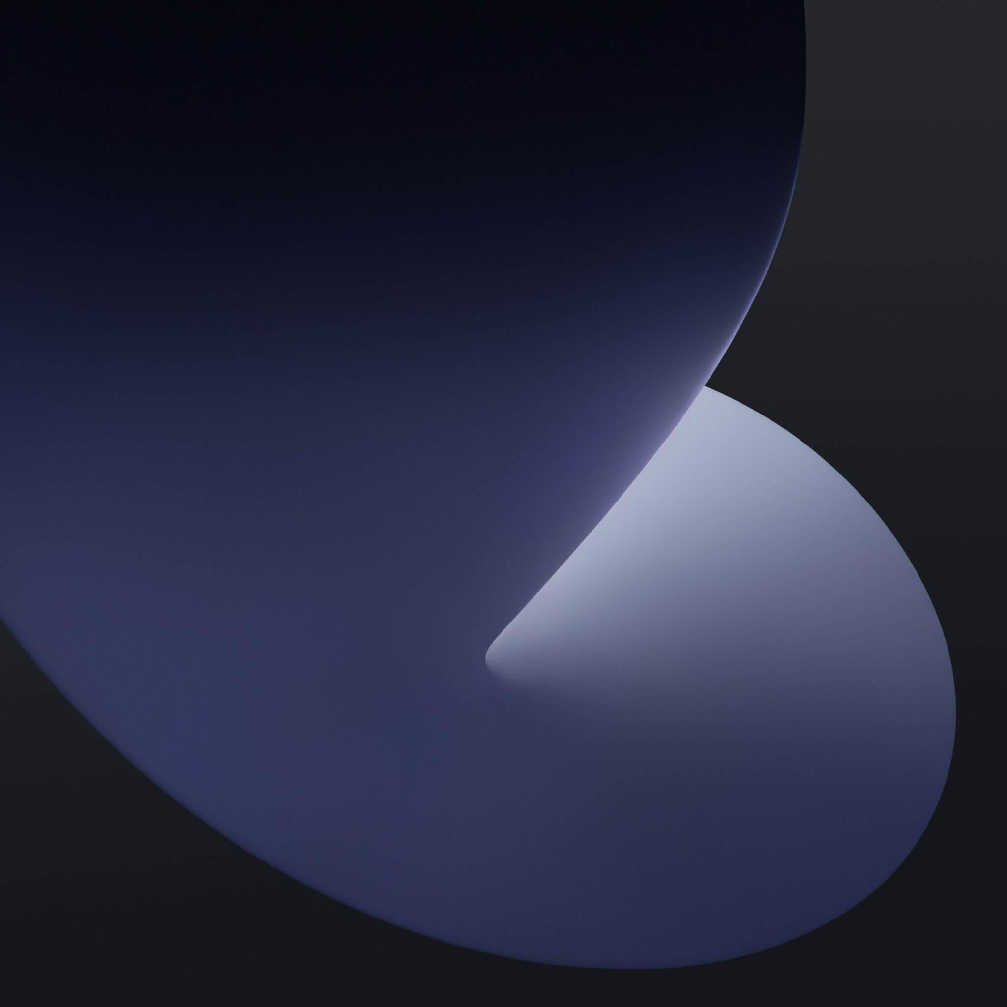 ios 14 wallpaper ispazio dark mode 3