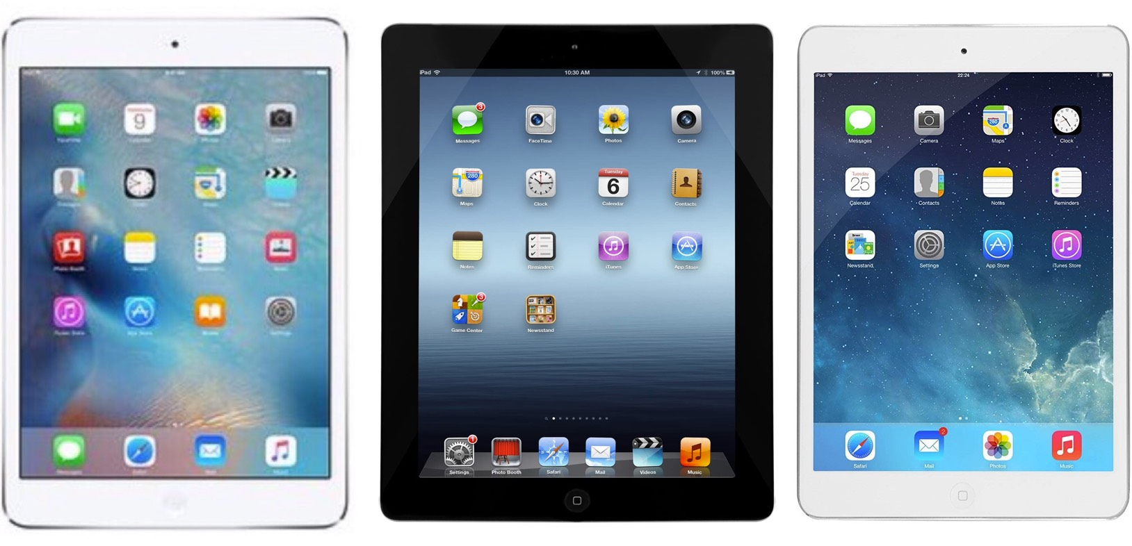 iPad 3, 4 and iPad Mini