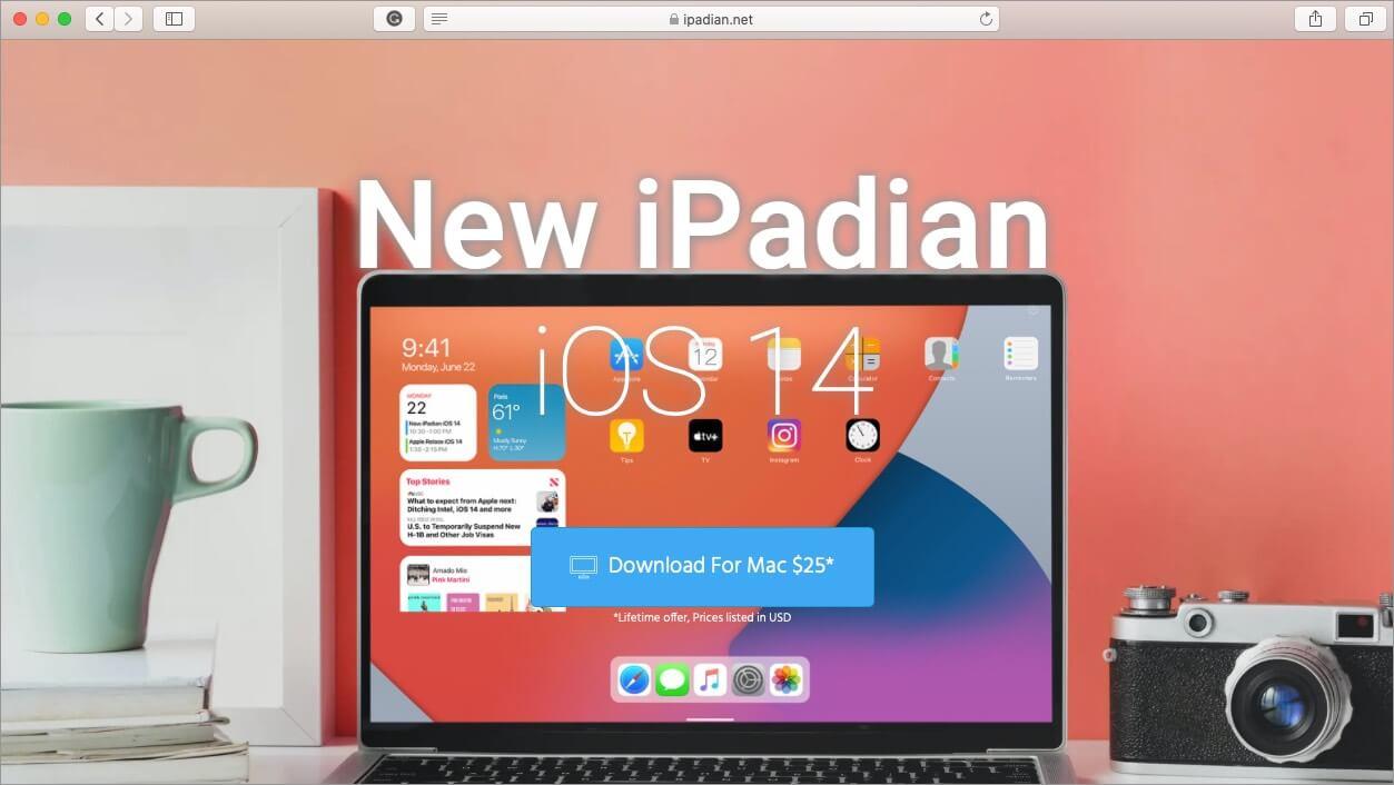 ipadian ios emulator for mac and windows pc